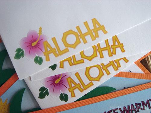 Aloha Envelopes