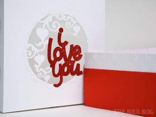 I love you box top design